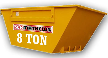 Builders Skip - Up to 8 Ton